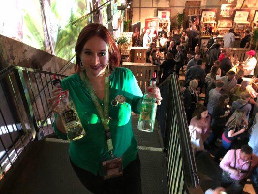 Frau Cachaça auf Vienna Rum Festival