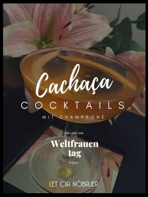 Cachaça mit Champagne Cocktail