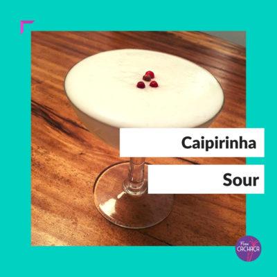 Caipirinha Sour Cocktail bei Frau Cachaça
